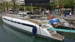 Catamaran en Mallorca privado free bird