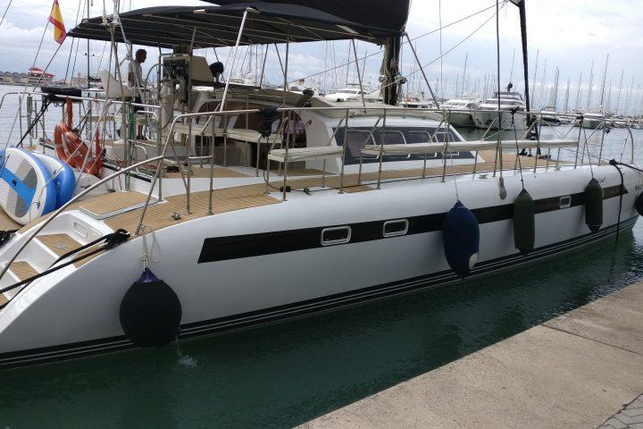 Mallorca catamaran 38 pers