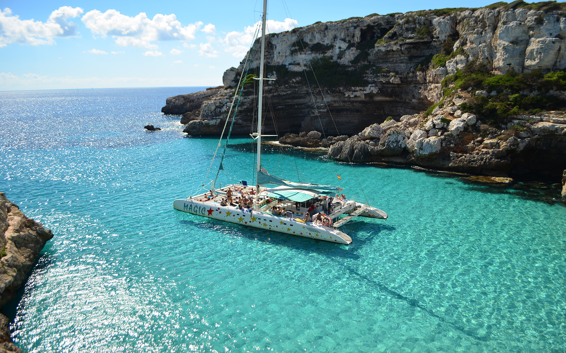 Catamaran in Mallorca