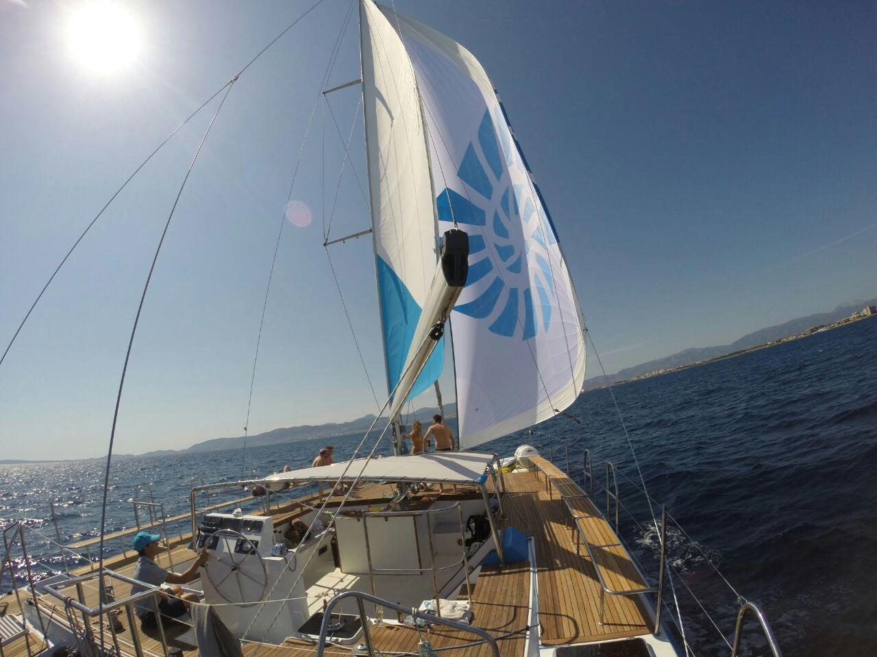 Catamaran Palma bay