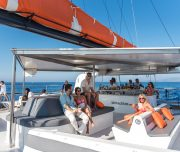 Mallorca catamaran sunset tour