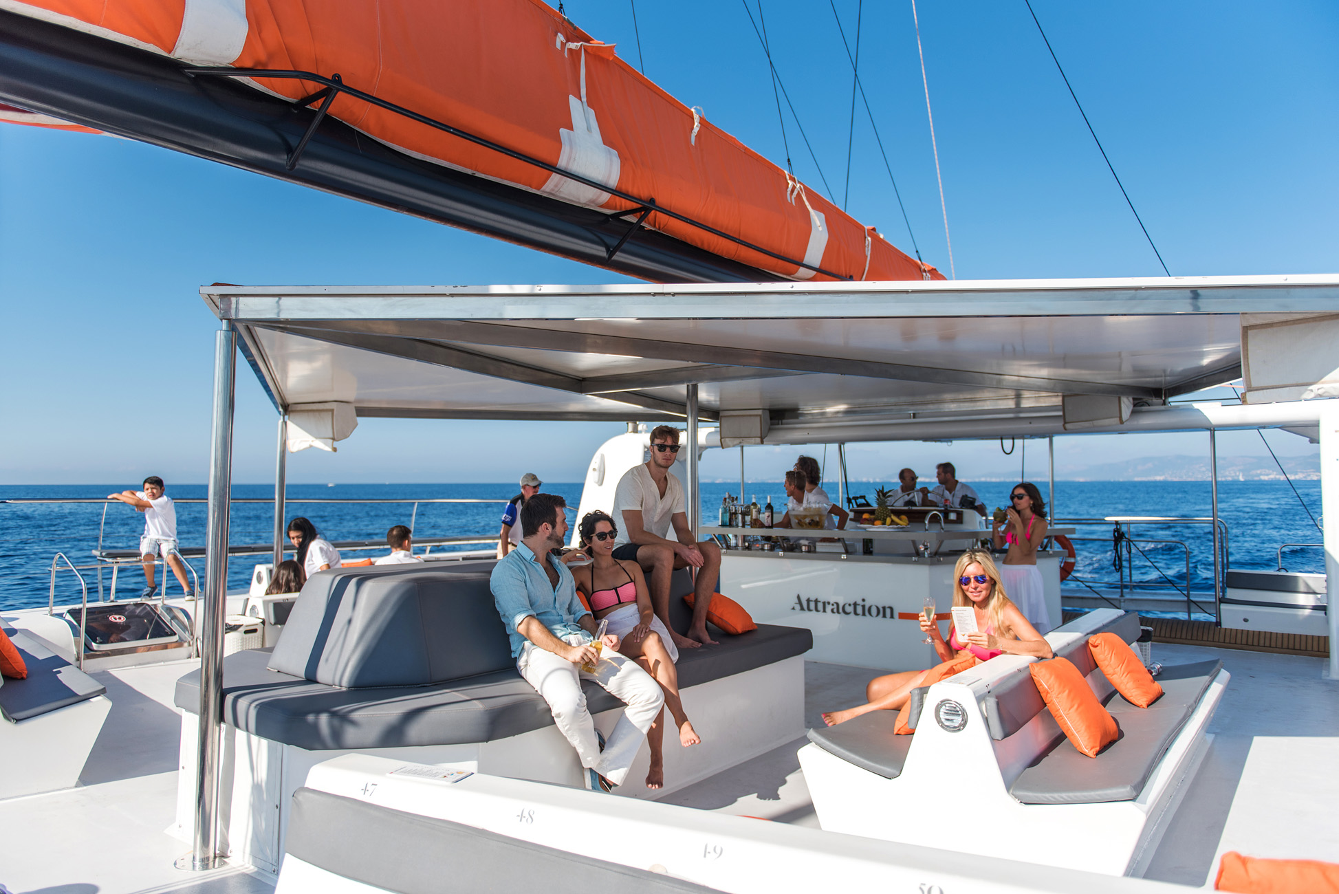 Catamaran sunset excursion en Mallorca