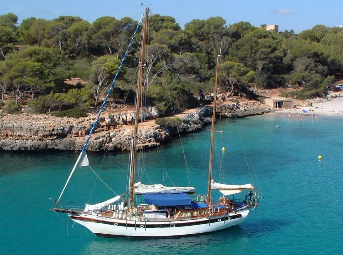 Mallorca privates Segelboot
