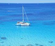 Katamaran Bucht von Palma