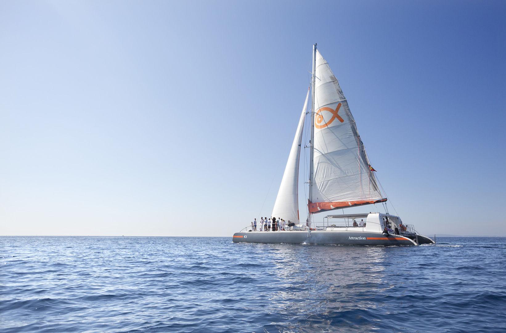 Majorque catamaran